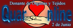 02 de Junio, Día Nacional del Donante de Órganos y Tejidos.