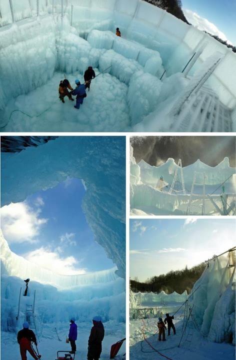 千歳・支笏湖氷濤(ひょうとう)まつり