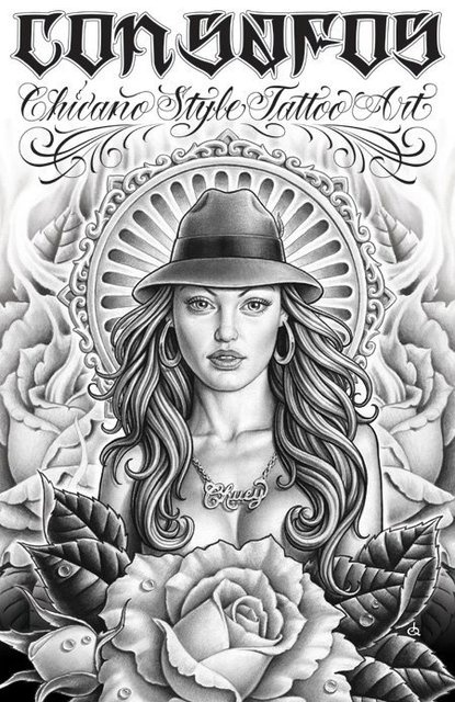 Con Sofos ~ Chicano Style Tattoo Art