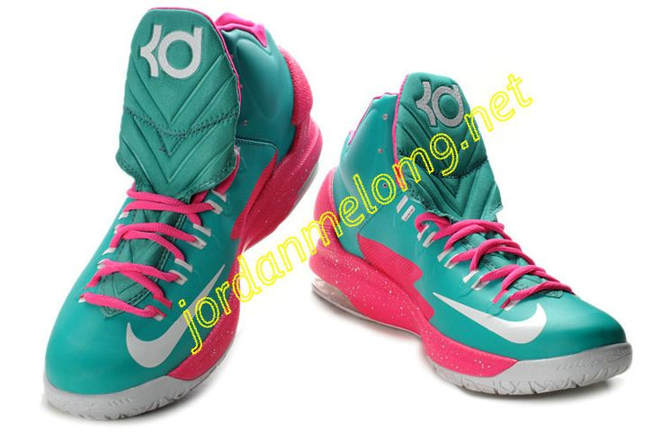 Nike Zoom KD V basketball shoes � Kd ShoesNike ZoomBasketball ShoesPink  WhiteKevin DurantTiffany BlueThunderPairsSick