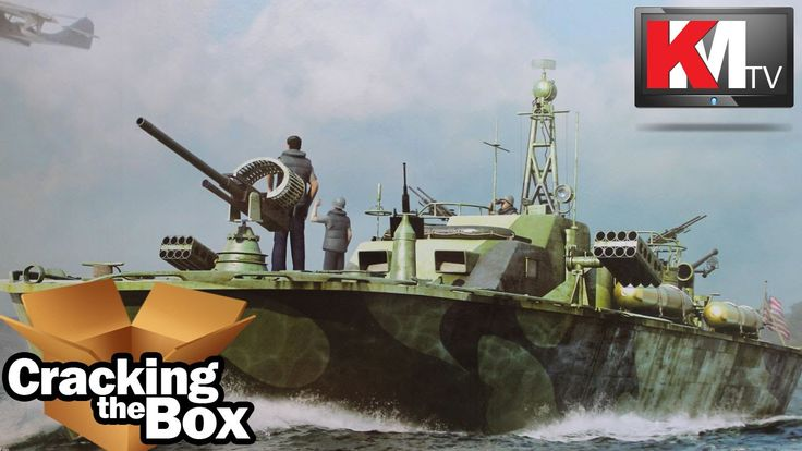 Unboxing Merit's 1/48 Elco 80' PT Boat (late version)