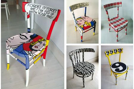 17 best images about furniture design diy on pinterest vintage dresse - Customiser une chaise ...