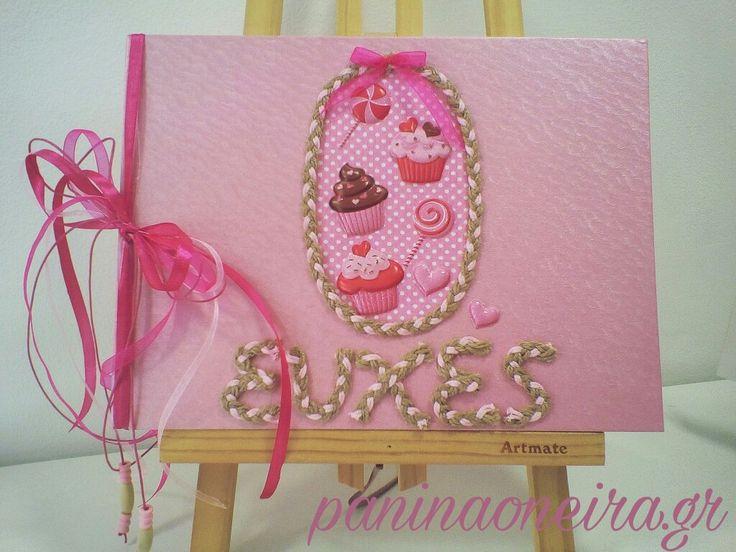 Handmade guestbook for babyshower! #paninaoneira