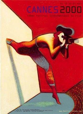Festival de Cannes 2000 - Illustration by Lorenzo Mattoti