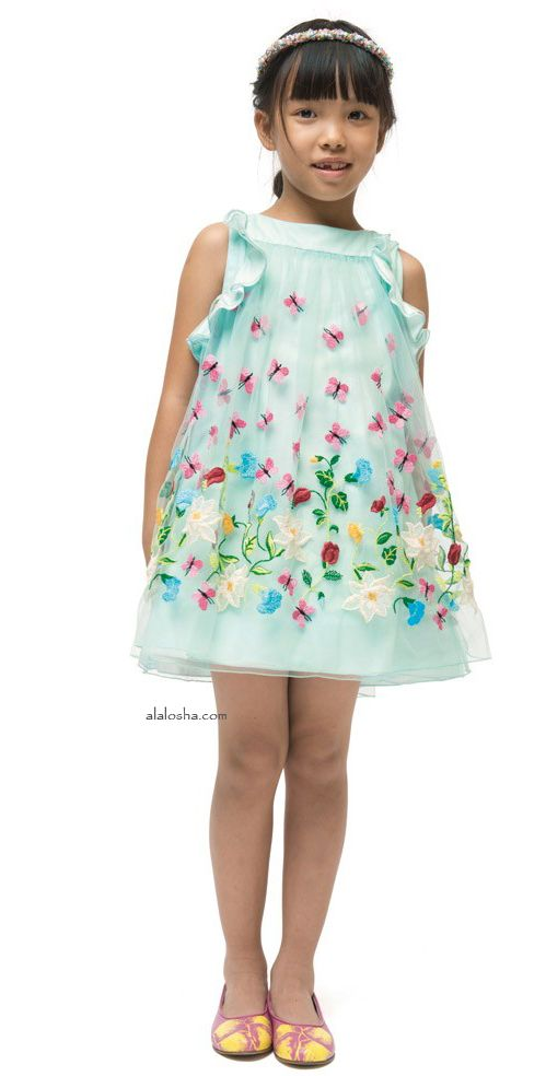 ALALOSHA: VOGUE ENFANTS: Must have of the day: These I PINCO PALLINO SS15 Flowers dresses are going to propel your look from simple to standout!
