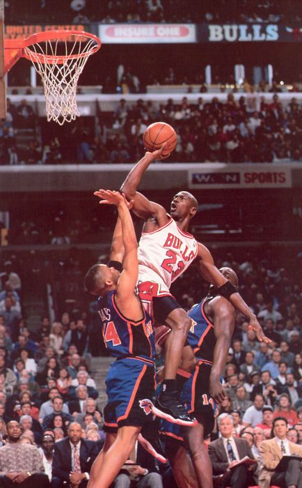 Jordan...the dude had total control...like Kobe in that way