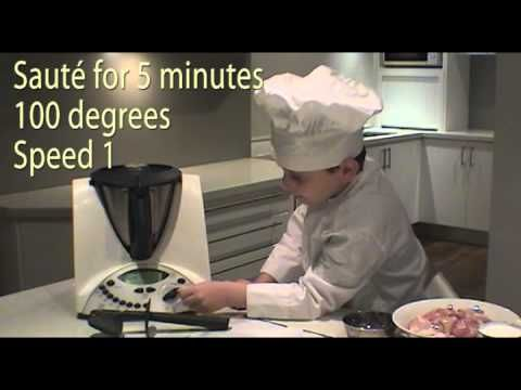 Chef Dylan - Thai Chilli Chicken with Basil (Thermomix)