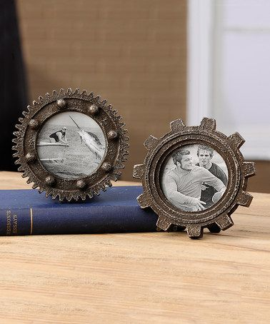 Look what I found on #zulily! Gear Wheel Frame Set #zulilyfinds