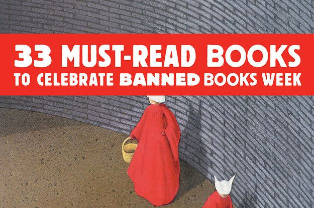 September 21 to September 27 is Banned Books Week. To celebrate, we found a bunch of books THE MAN doesn't want you to read. Fight the power! Read the books!