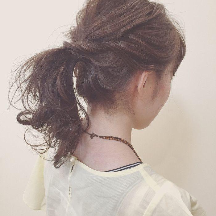 簡単なのに編み込み風 ねじってくるくる ロープ編み のヘアアレンジ術 ポニーテール ポニーテールの作り方 ガーリー ヘア
