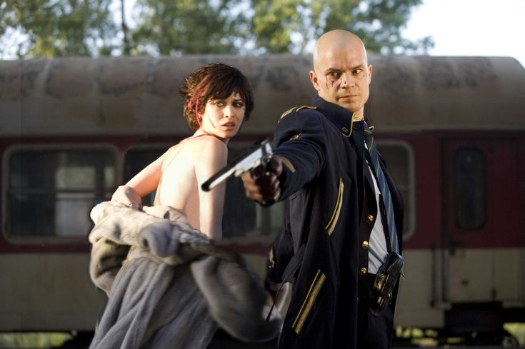 Timothy Oliphant as Agent 47 and Olga Kurylenko as Nika ----On the Run in 'HITMAN' 2007