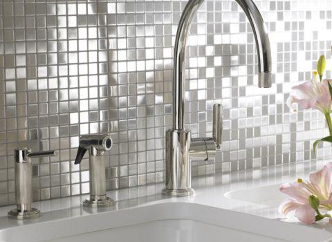 Kitchen splashback, bathroom splashback, sparkle tiles
