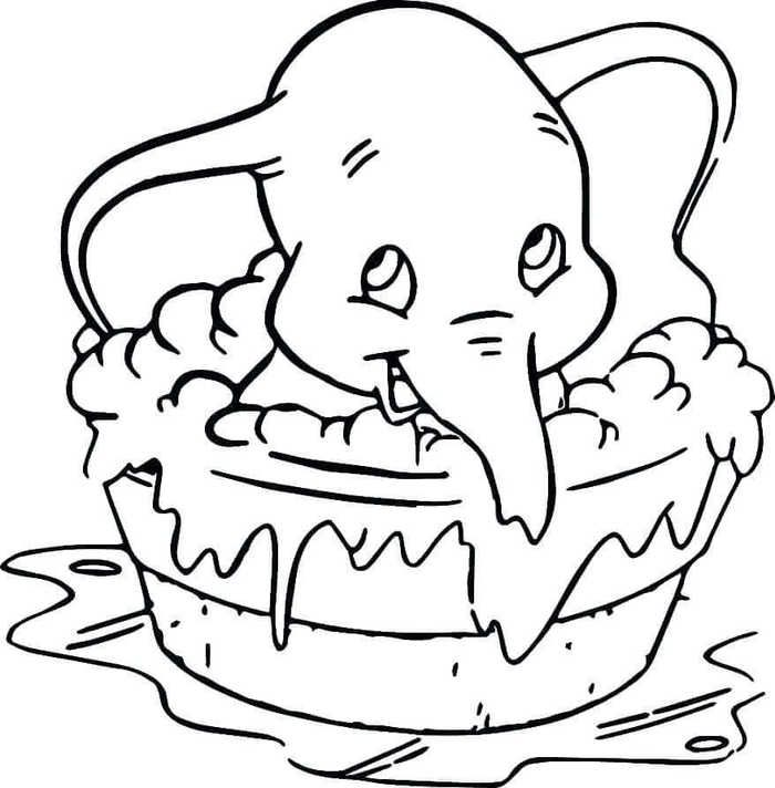 Printable Dumbo Coloring Pages For Kids Free Coloring Sheets Elephant Coloring Page Cartoon Coloring Pages Animal Coloring Pages