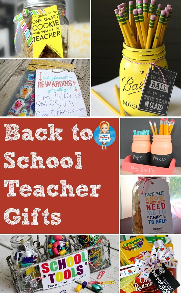 Gifts For 17 Year Old Girls Don T Break The Bank: DIY Back To School Teacher Gifts That Are Super CUTE