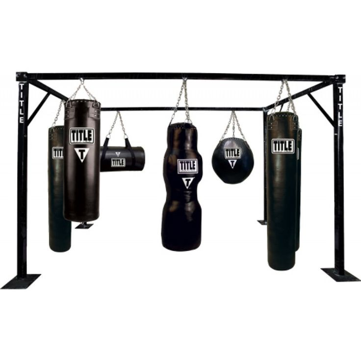 TITLE Heavy Duty Adjustable Pro Bag Stand Heavy bag