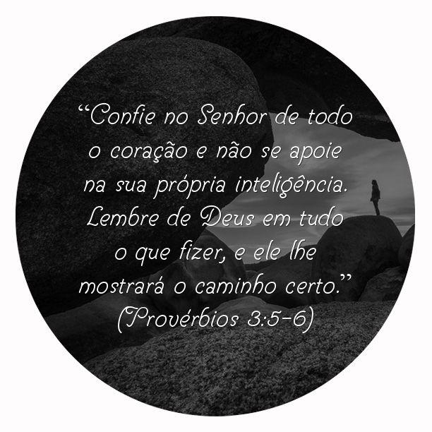Provérbios 3:5-6