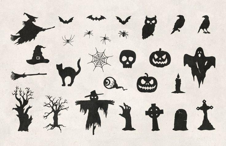 Medialoot - Halloween Vector Silhouettes