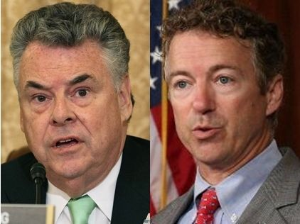 Rep. Peter King Is Fed up With Rand Paul: 'He Doesn't Deserve To be in the United States Senate' 1/6/14 *peter king is the one that DOESN'T belong in the US Senate!  Rand Paul is standing up for Americans Constitutional Rights.  HEY NY - vote your idiot RINO out of office!