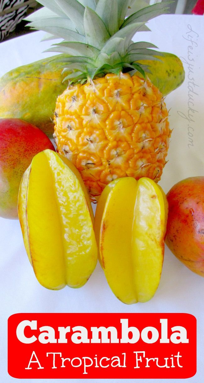 how to eat carambola fruit