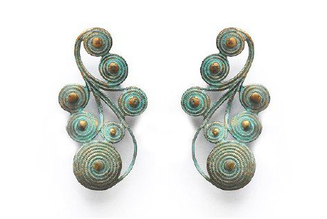 Supermarket - Nyah Verdigris Earrings from We Dream in Colour