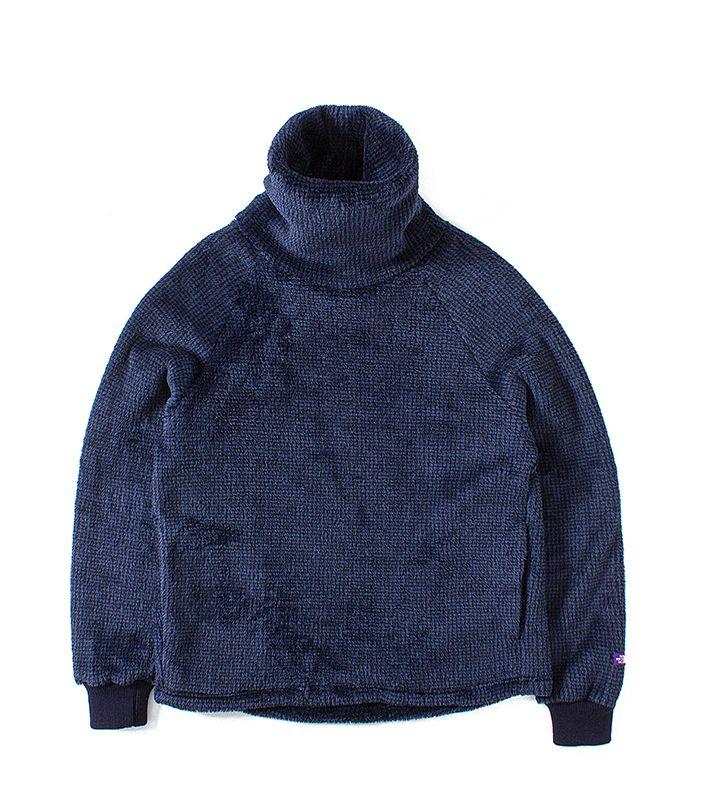nanamica / Turtle Neck Fleece Shirt