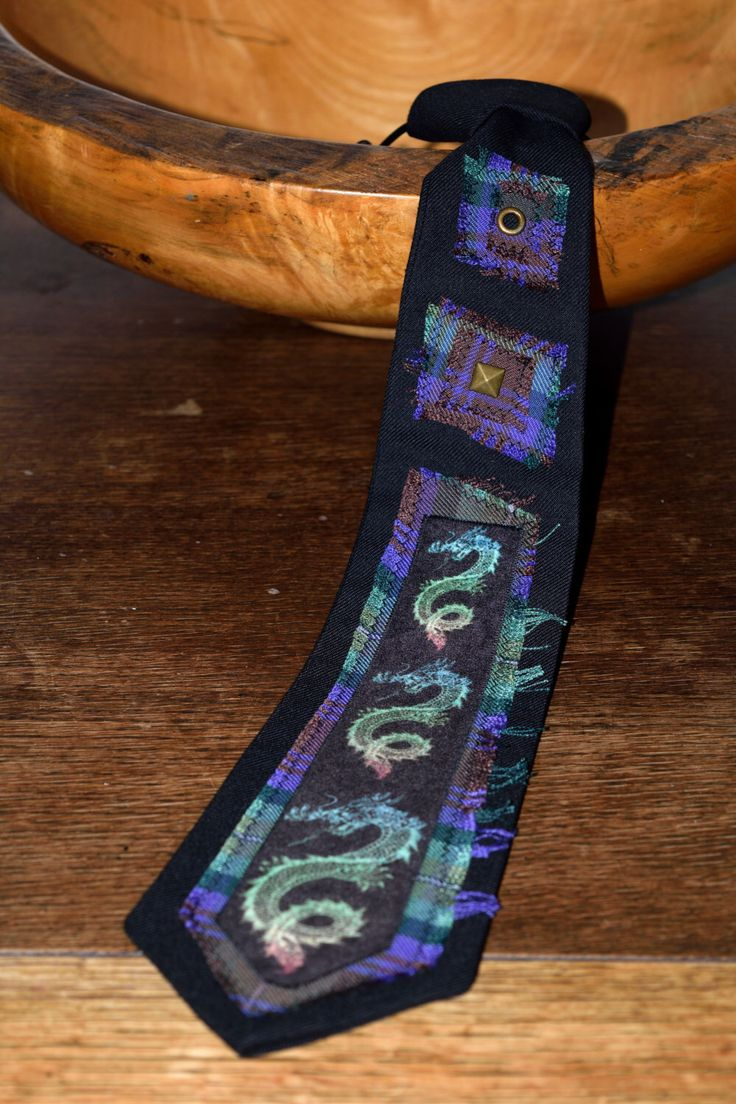 Japanese Volcano Dragon - Novelty Tie - Best Gifts for men - Alternative Clothing - Cult Clothing UK - by MoNkARoCkS on Etsy https://www.etsy.com/uk/listing/492884735/japanese-volcano-dragon-novelty-tie-best