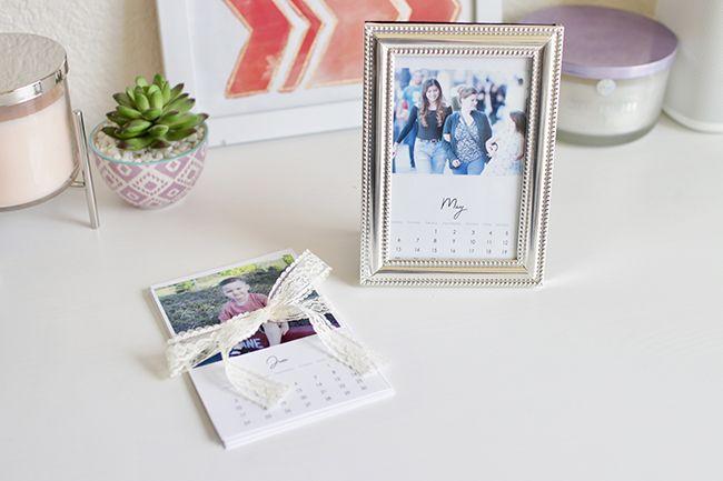 DIY Mother's Day Mini 2018 Calendar