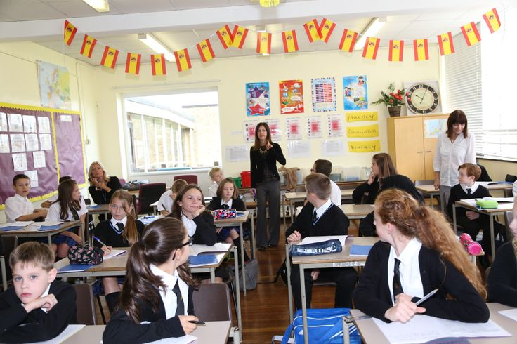 Language classes at Mark Hall Academy