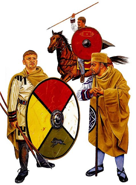 The Great Hunt: Soldiers & Senior officer, 4th century AD