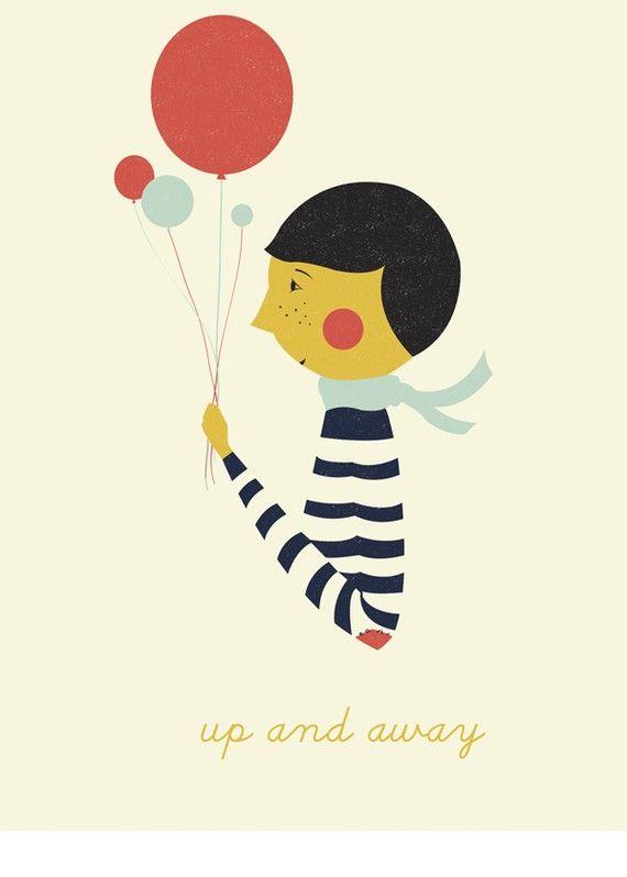 colors + stripes + baloons