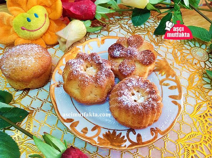 Vanilyalı Muffin