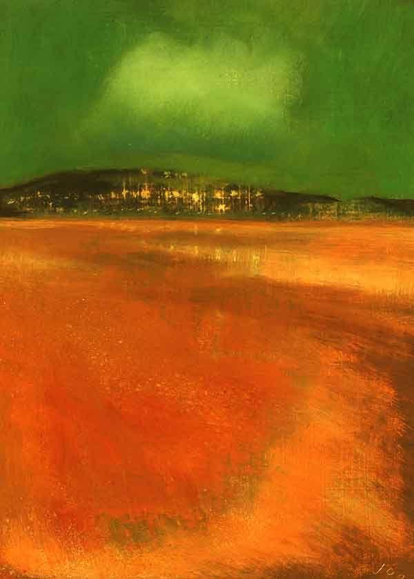 Low Tide by John O' Grady, Irish Landscape  Irish Landscape painting, Irish Art, art for sale
