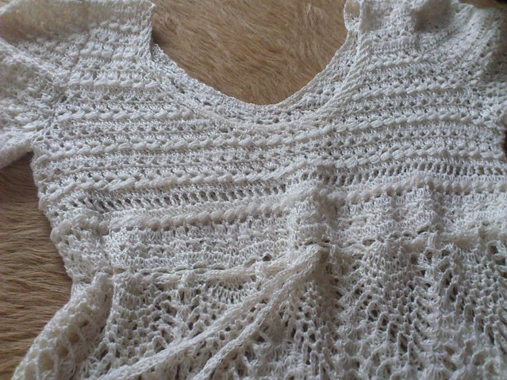 Sommerkleid gehäkelt Lace by HexenesselsVintage on Etsy