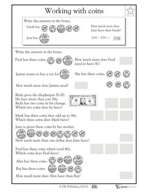 Summer numbers Multiply the learning and the fun with these summer math worksheets