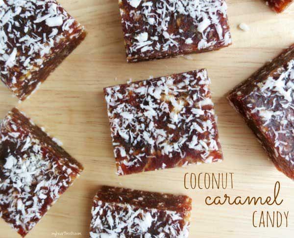 Coconut Caramel Candy   #MyHeartBeets
