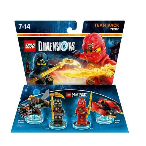 Superb LEGO Dimensions Team Pack: LEGO Ninjago Now At Smyths Toys UK! Buy Online Or Collect At Your Local Smyths Store! We Stock A Great Range Of LEGO Dimensions At Great Prices.