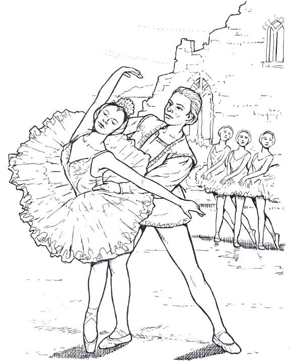 17 best images about ballerinas pointe shoes to color on for Ballet coloring pages printable
