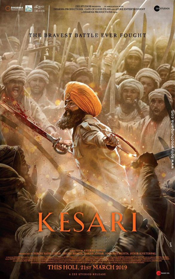 Kesari 2019 Movie is an Indian Bollywood Movie  Download