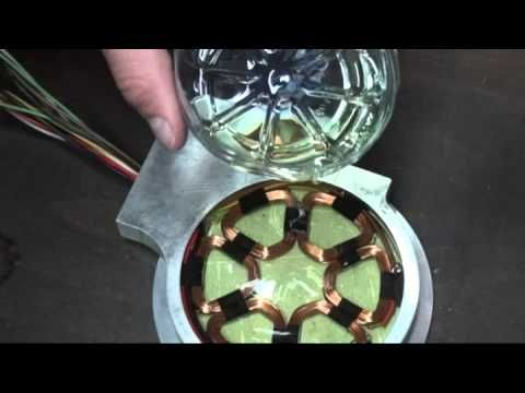 Making of an homemade electric axial flux generator