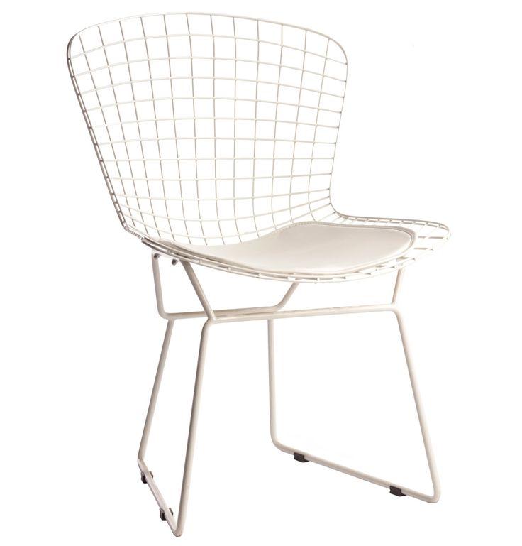 Replica Harry Bertoia Side Chair (Powder Coated Frame) by Harry Bertoia - Matt Blatt
