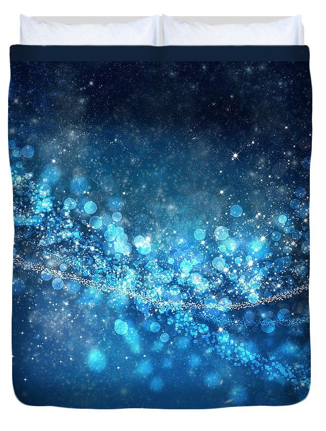 Stars And Bokeh Duvet Cover by Setsiri Silapasuwanchai. Available in king, queen, full, and twin. Our soft microfiber duvet covers are hand sewn and include a hidden zipper for easy washing and assembly. Your selected image is printed on the top surface with a soft white surface underneath. All duvet covers are machine washable with cold water and a mild detergent.