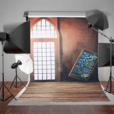 #Banggood 1.5x2.1m арочные двери Redwall доски съемки фото студия фотографии фоном фон (1052511) #SuperDeals