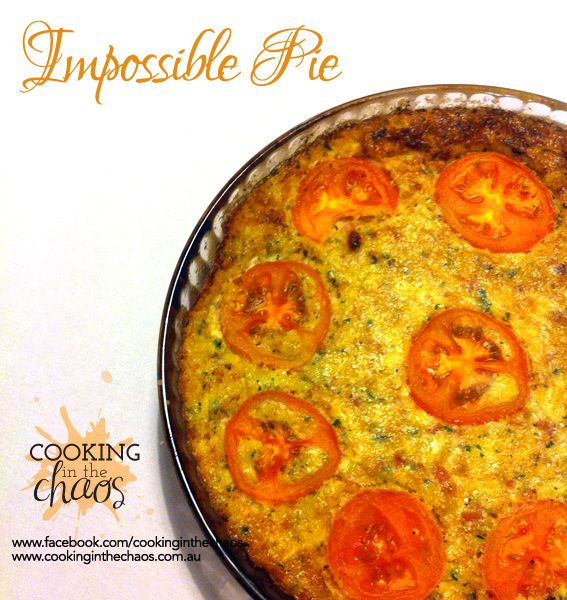 Impossible Pie - Thermomix