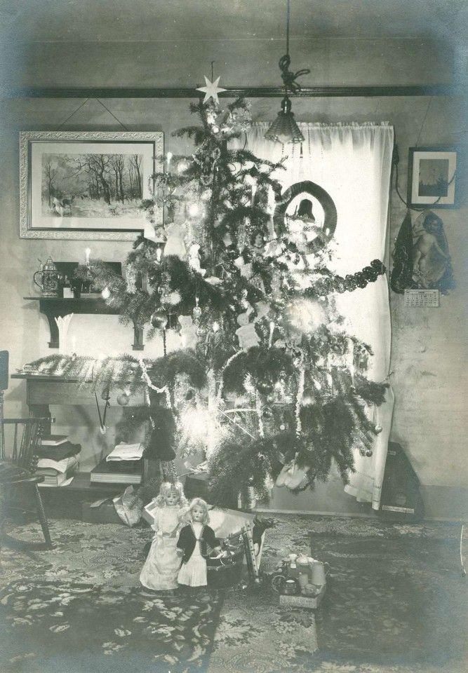 Christmas Tree 1930s 1930 39 S Home Family Pinterest