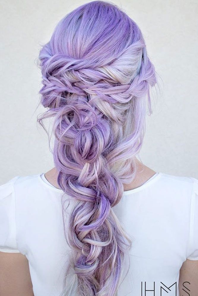 Sweet Cotton Candy Hair Ideas ★ See more: http://lovehairstyles.com/sweet-cotton-candy-hair-ideas/
