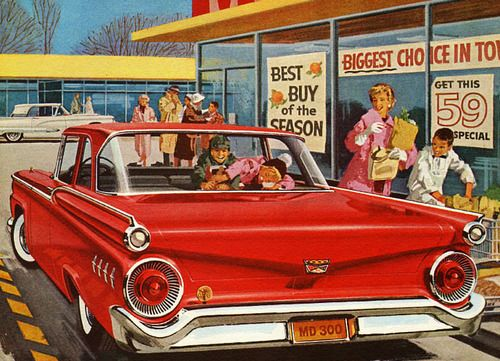 1959 Ford advertisement