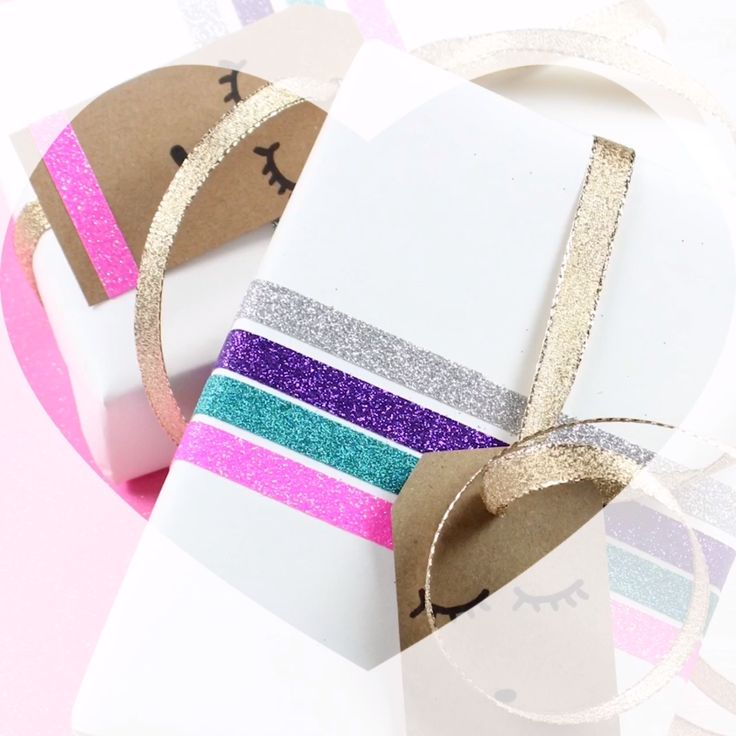 3 Easy and Cute Gift Wrapping Ideas #gift #wrapping #diy #gifts #christmas #unicornparty #llamas