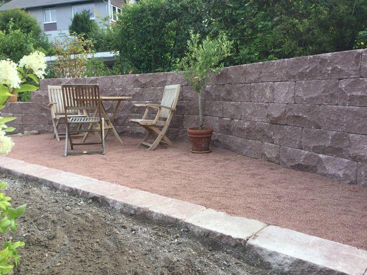 12 besten Gartenmauern Bilder auf Pinterest Gartenmauern - garten sichtschutz mauer