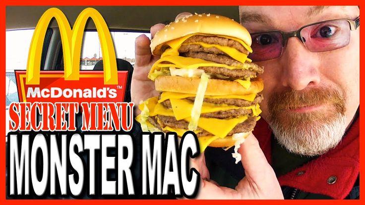 McDonald's ★Secret Menu Item★ MONSTER MAC Challenge