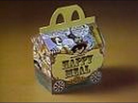 "McDonald's - ""Introducing...The Happy Meal"" (Commercial, 1979)  -- Here's a neat commercial for the introduction of the Happy Meal at McDonalds.  ""Offer ends July 29, 1979 - While supplies last."" (something tells me they extended this offer)"